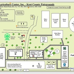 4 H Pig Diagram Wiring Light Switch Pigs Pies Poultry More At The Kent County Fair Map Of Grounds
