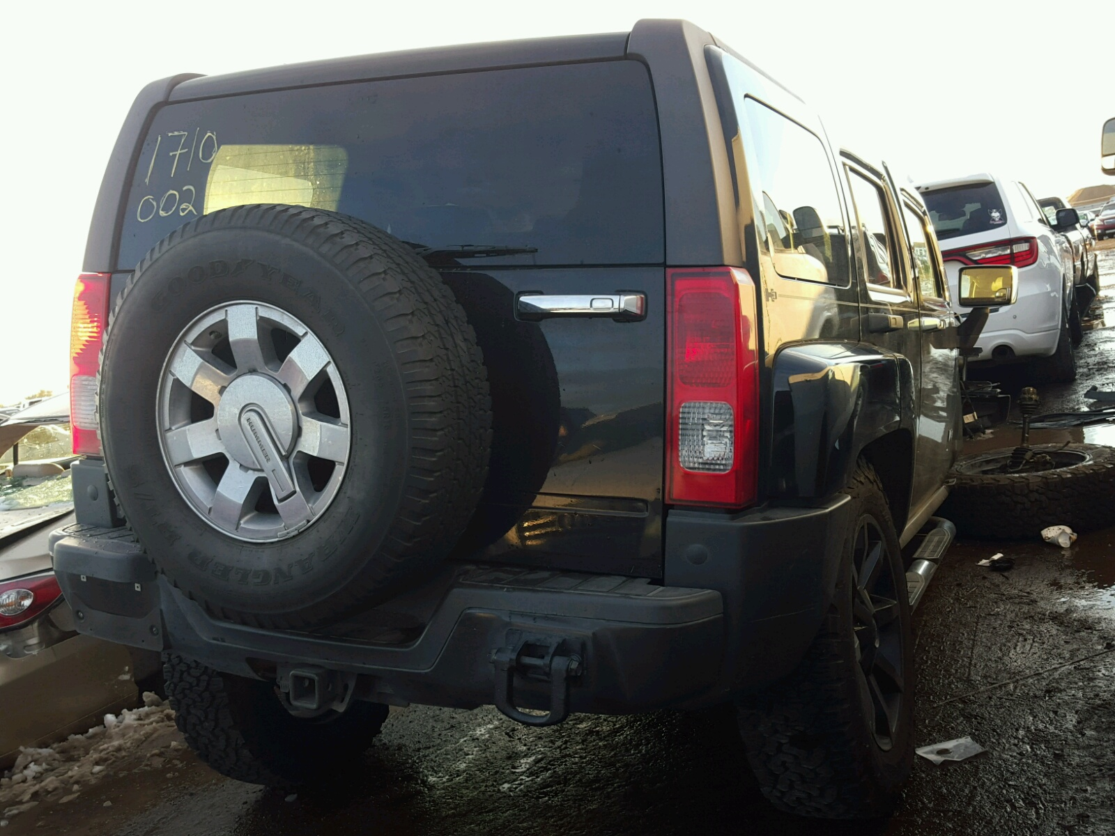 2008 Hummer H3 for sale at Copart Brighton CO Lot