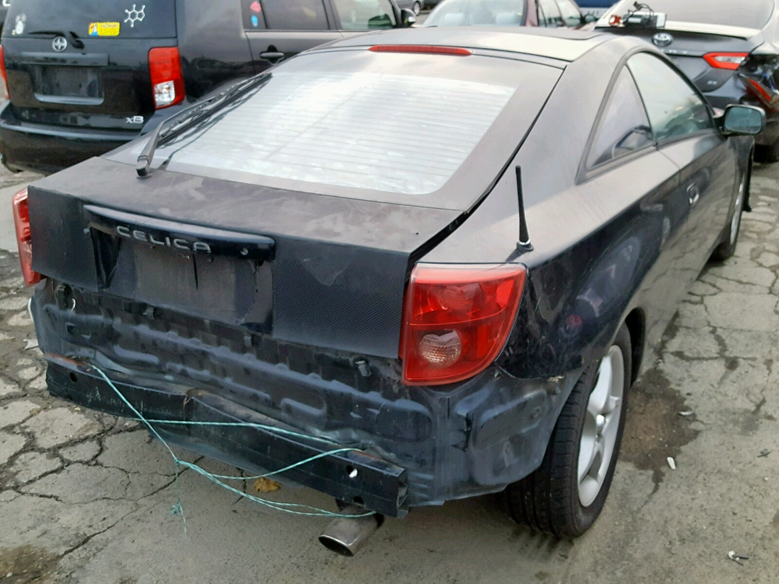 hight resolution of  2000 toyota celica gt 1 8l rear view