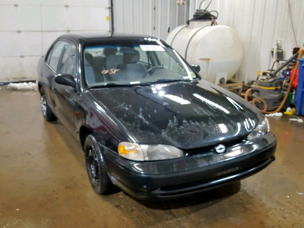 medium resolution of 1y1sk52851z427458 2001 chevrolet geo prizm 1 8l left view 1y1sk52851z427458