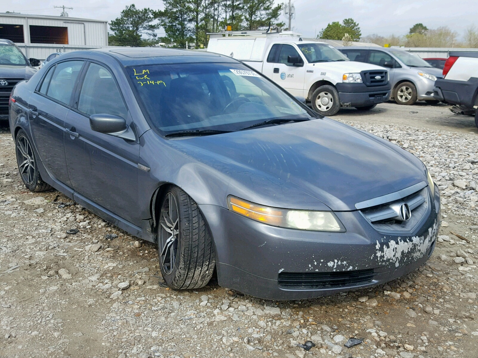 hight resolution of 19uua66225a060004 2005 acura tl 3 2l left view 19uua66225a060004