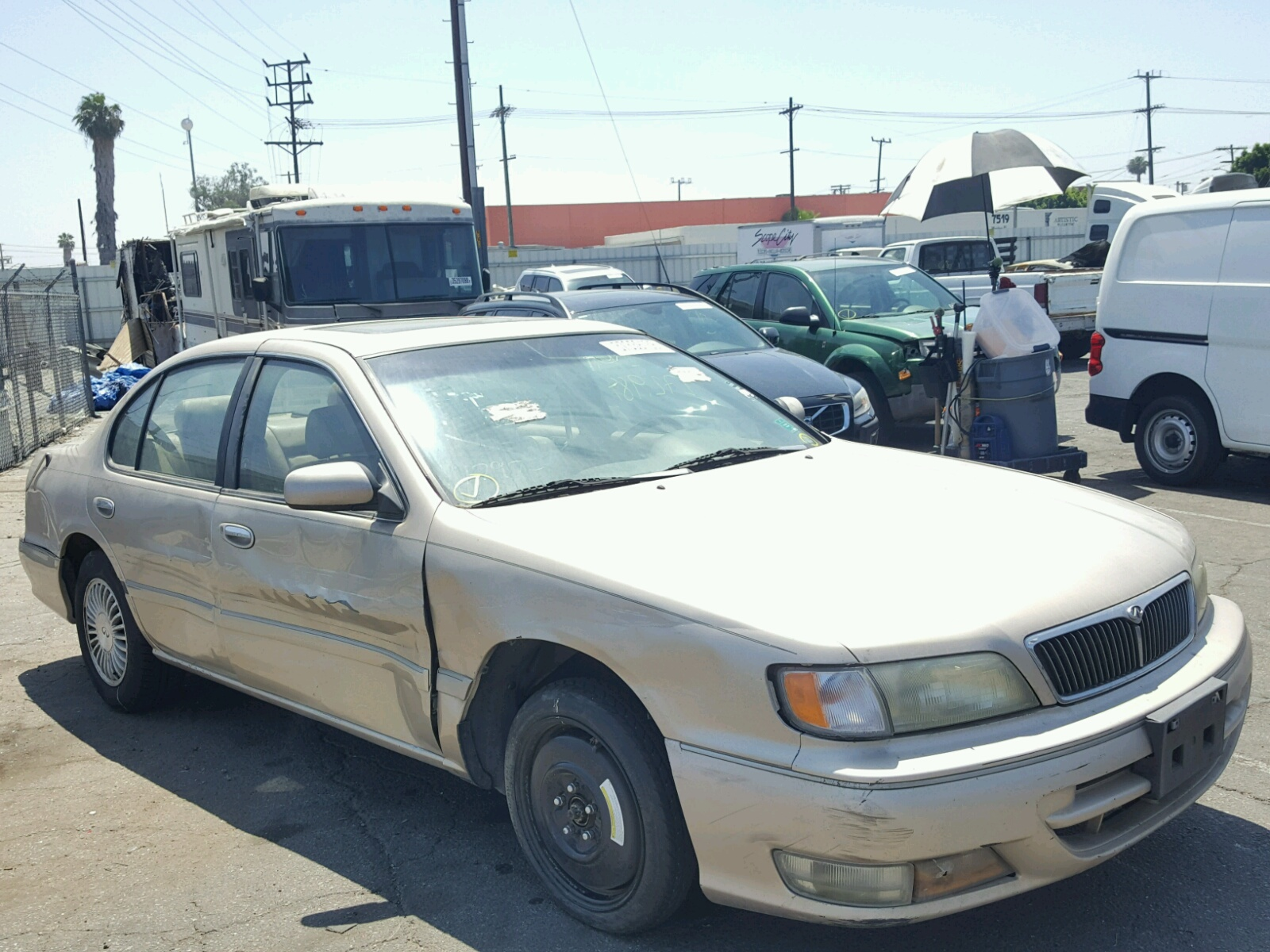 hight resolution of 1996 infiniti i30 3 0l 6 in ca fresno jnkca21d3tt022731 for sale