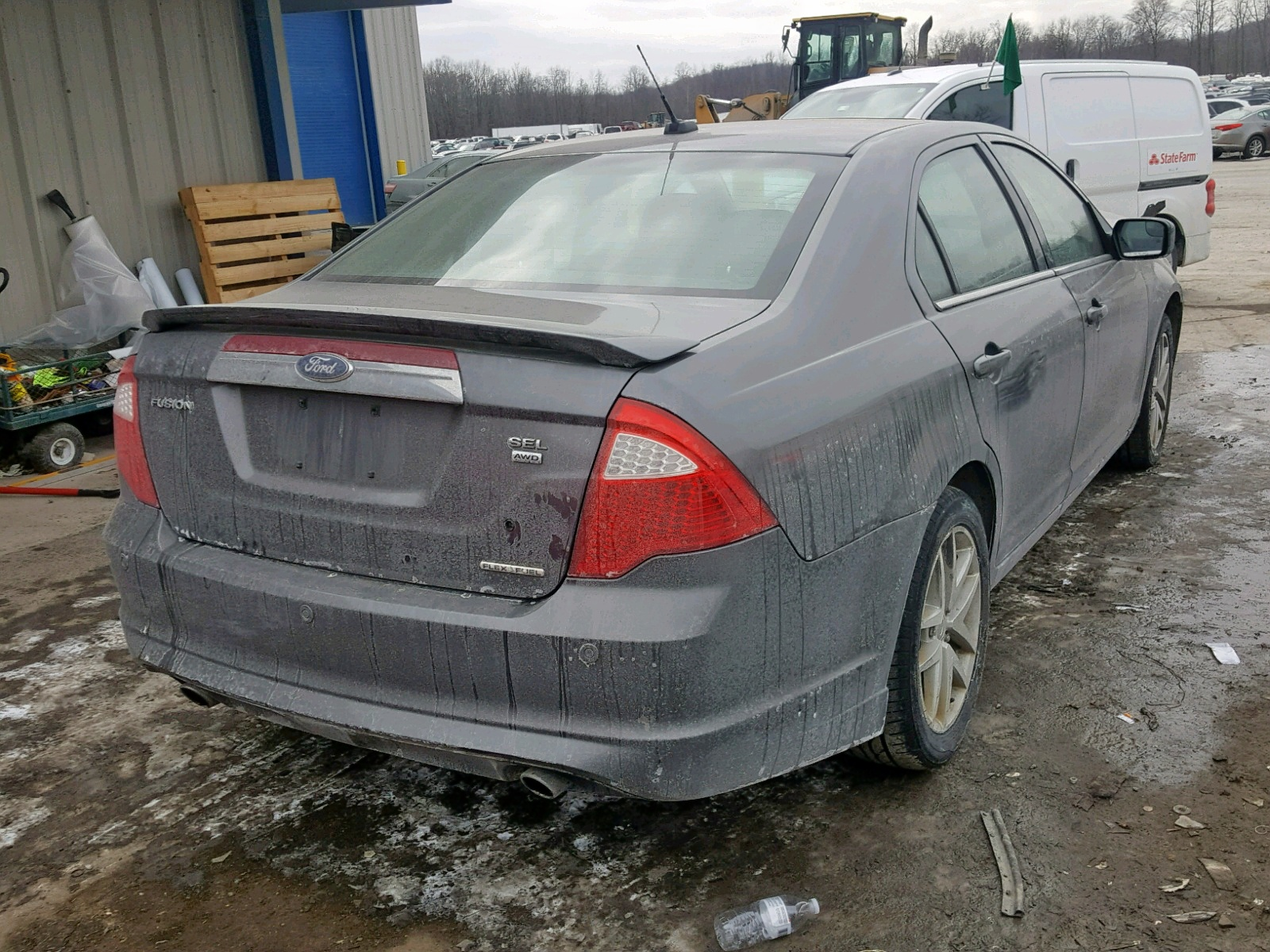 hight resolution of  3fahp0cg8cr425046 2012 ford fusion sel 3 0l rear view 3fahp0cg8cr425046