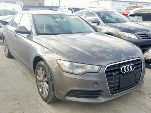 small resolution of 2013 audi a6 premium 3 0l 6 for sale