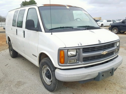small resolution of 1gcgg25r6y1114507 2000 chevrolet express g2 5 7l left view 1gcgg25r6y1114507