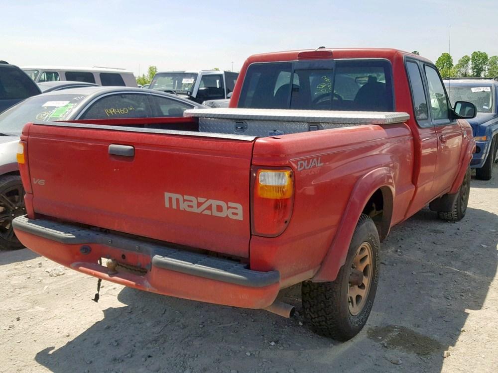 medium resolution of  4f4yr16u12tm01980 2002 mazda b3000 cab 3 0l rear view 4f4yr16u12tm01980