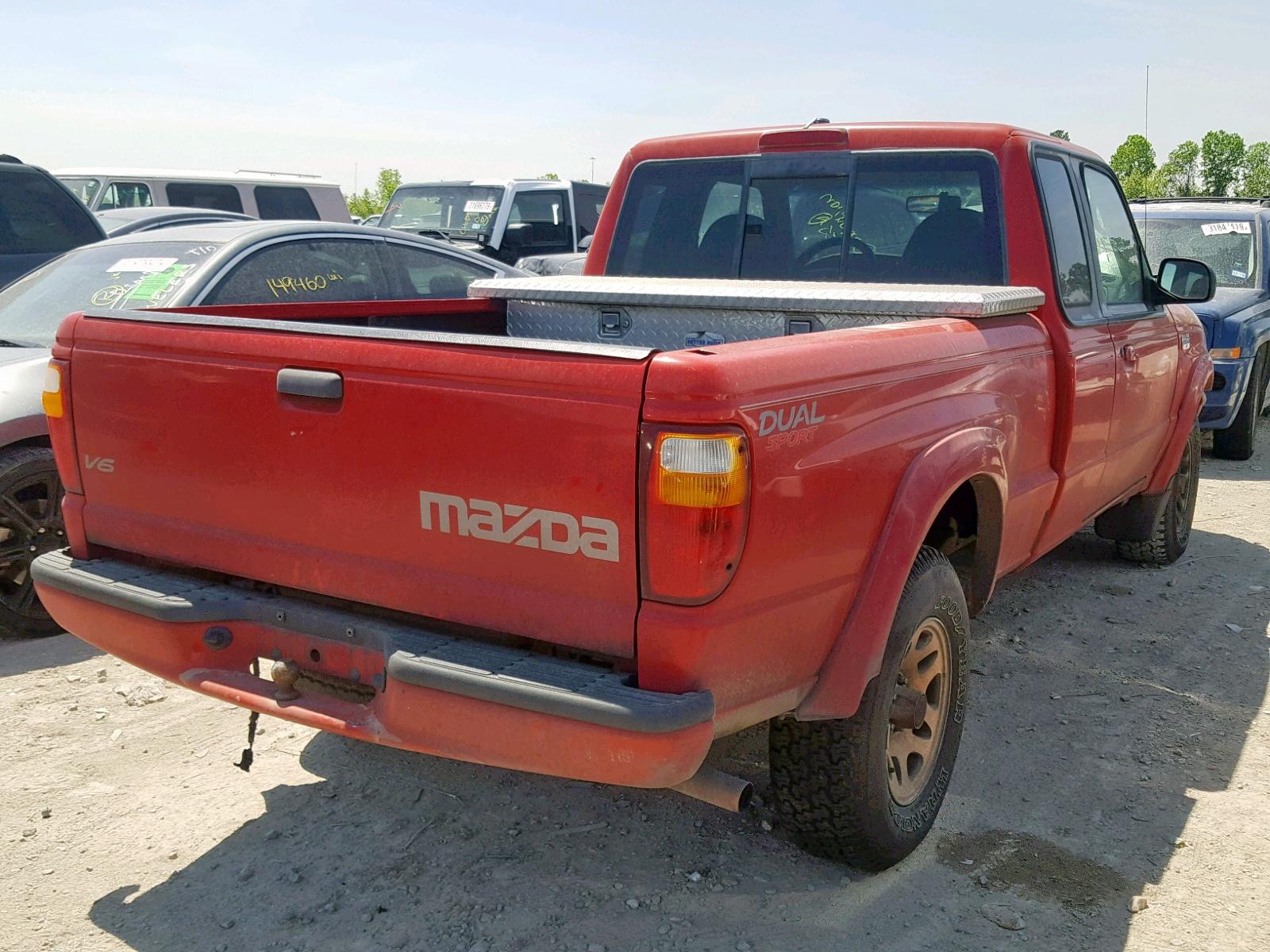 hight resolution of  4f4yr16u12tm01980 2002 mazda b3000 cab 3 0l rear view 4f4yr16u12tm01980