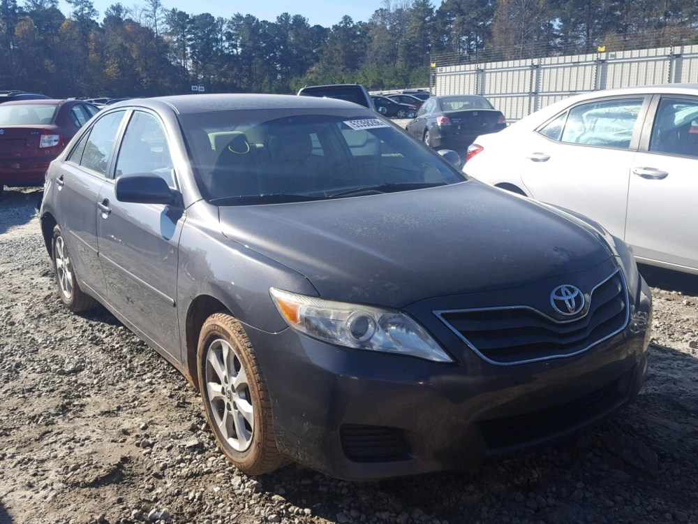 medium resolution of 2011 toyota camry base 2 5l left view