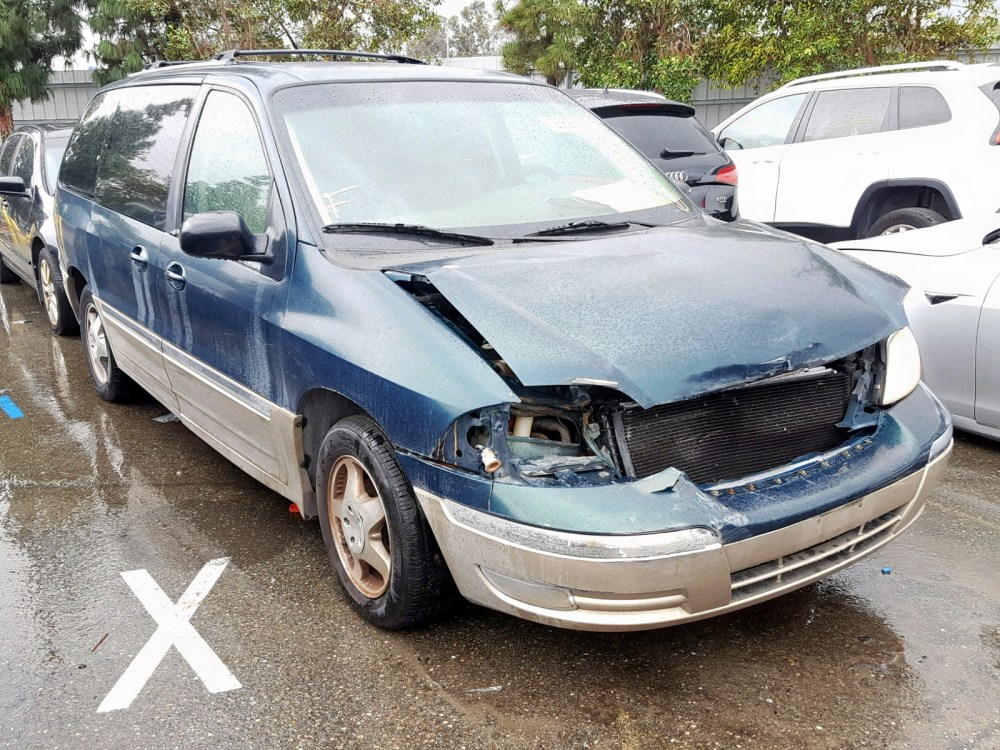 medium resolution of 2fmda5349yba17220 2000 ford windstar s 3 8l left view 2fmda5349yba17220