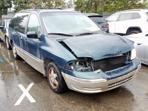 small resolution of 2fmda5349yba17220 2000 ford windstar s 3 8l left view 2fmda5349yba17220