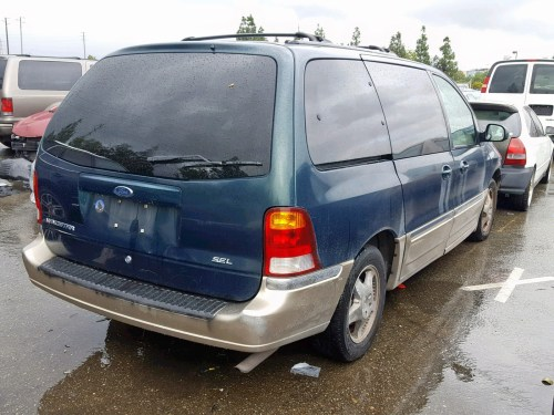 small resolution of  2fmda5349yba17220 2000 ford windstar s 3 8l rear view 2fmda5349yba17220