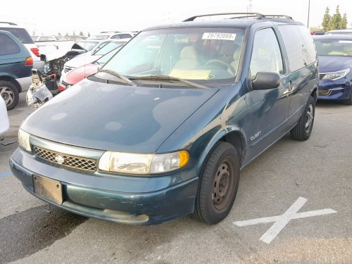 small resolution of 1998 nissan quest xe lot 29792069