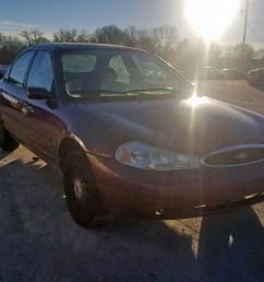 1999 ford contour lx 2 0l 4 for sale tn nashville vin 3fafp6535xm110485 [ 1600 x 1200 Pixel ]
