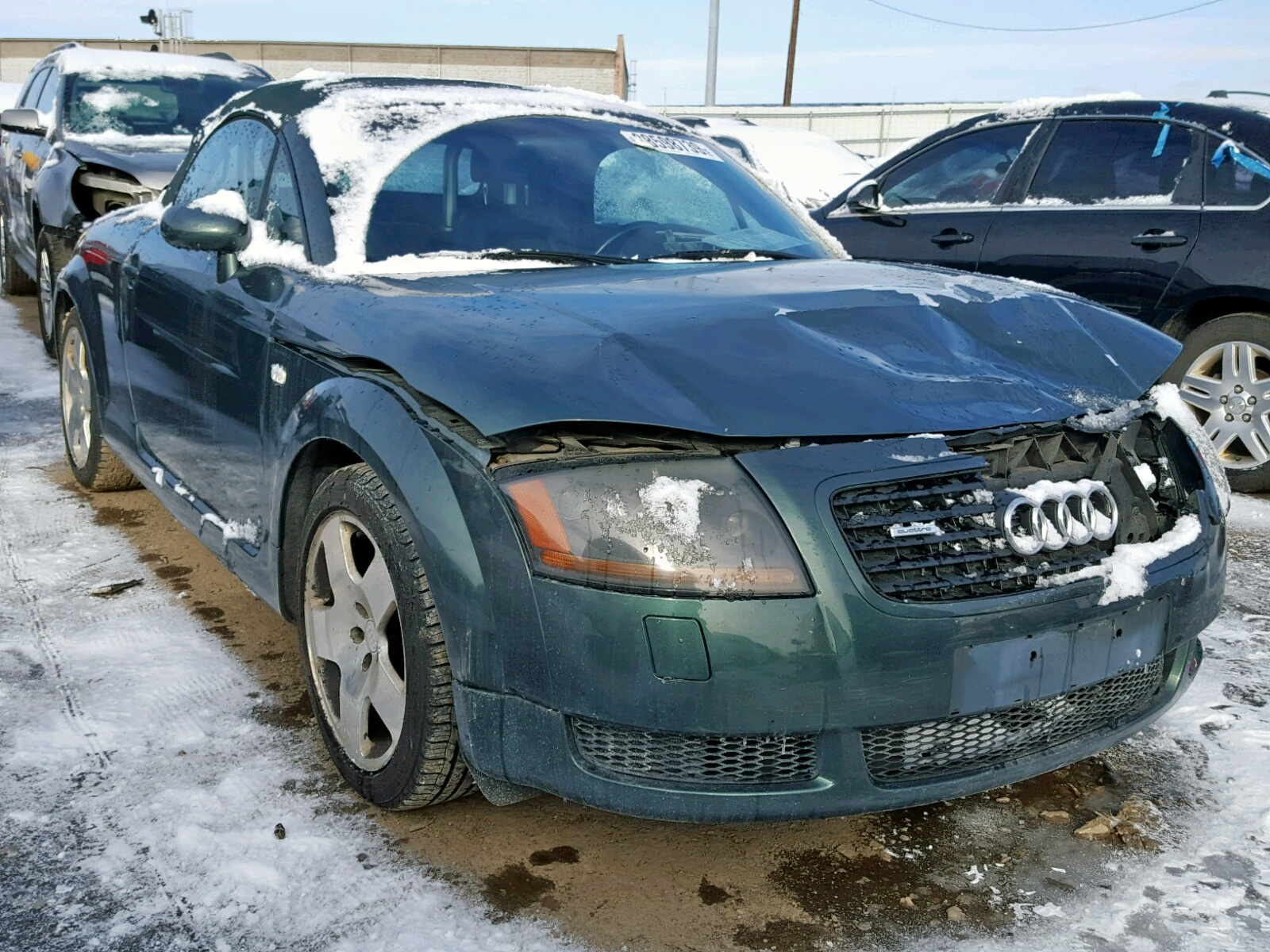 hight resolution of 2001 audi tt quattro 1 8l 4 for sale
