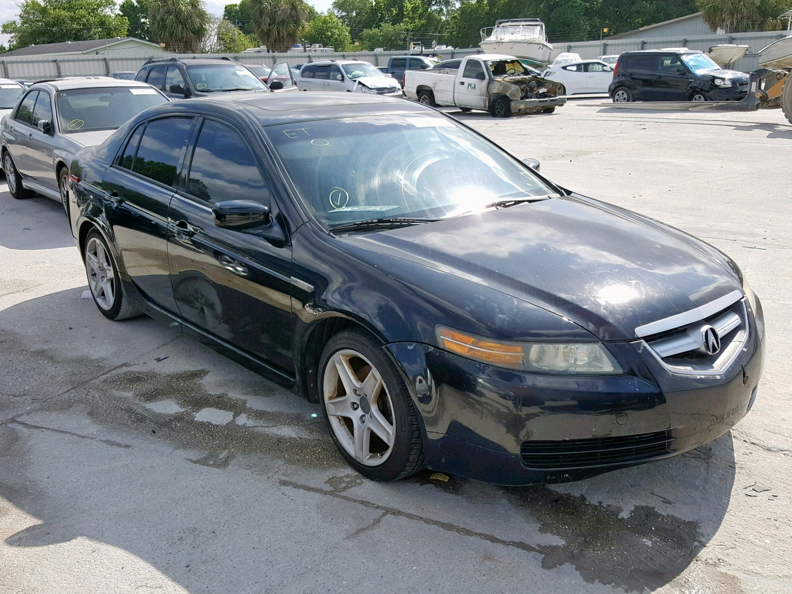 hight resolution of 19uua66295a020504 2005 acura tl 3 2l left view 19uua66295a020504