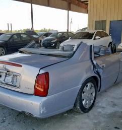 2005 cadillac deville dt 4 6l rear view  [ 1600 x 1200 Pixel ]
