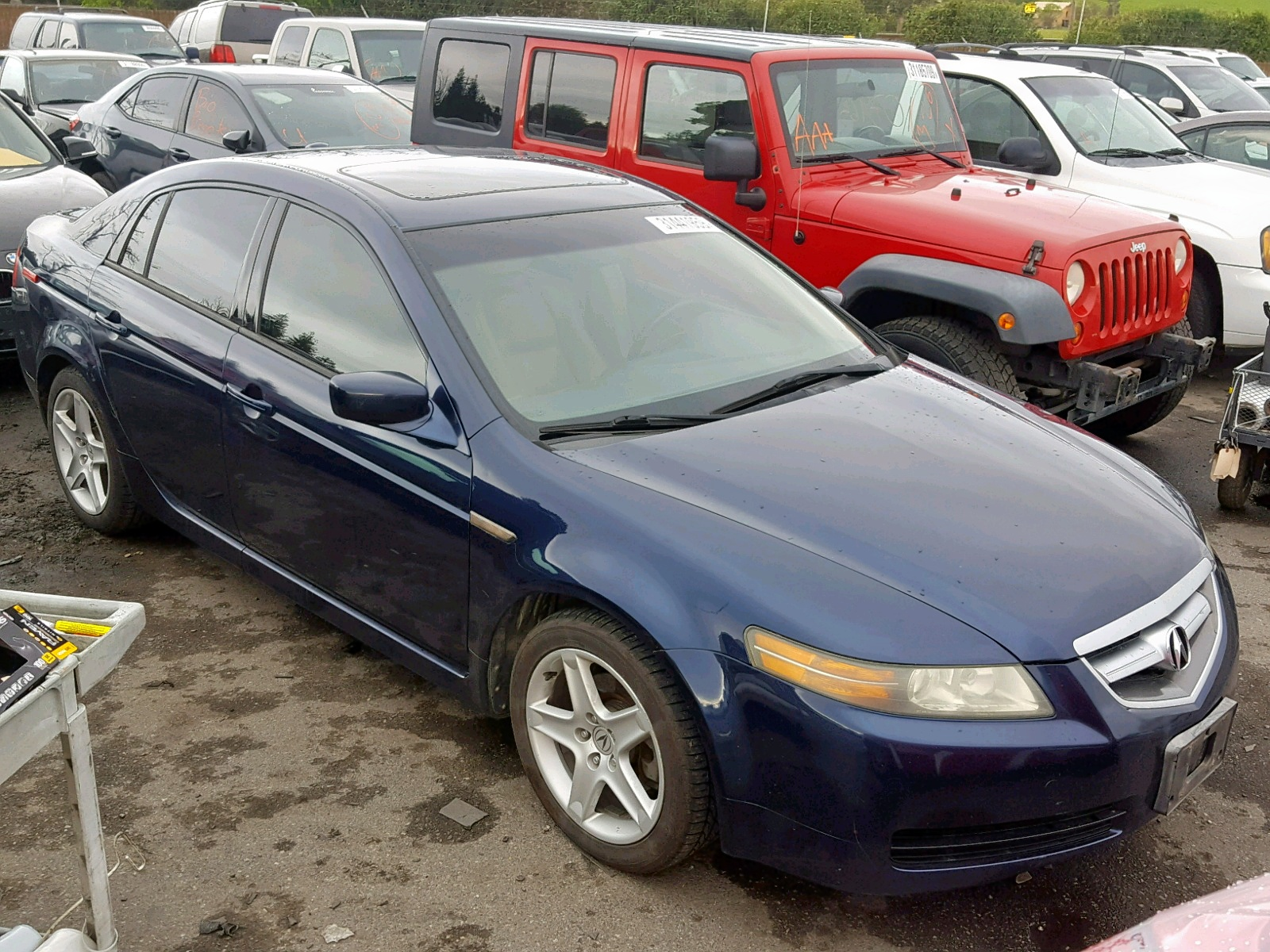 hight resolution of 19uua66295a040557 2005 acura tl 3 2l left view 19uua66295a040557