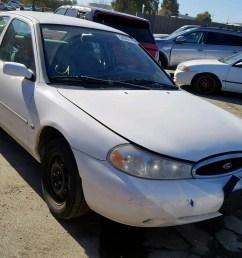 1999 ford contour lx 2 0l 4 for sale ca martinez vin 1fafp6531xk159397 [ 1600 x 1200 Pixel ]