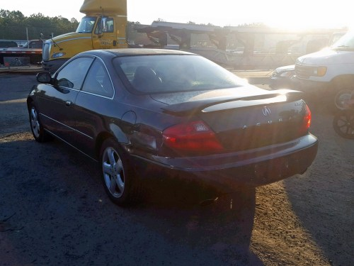 small resolution of 2001 acura 3 2cl lot 54893558