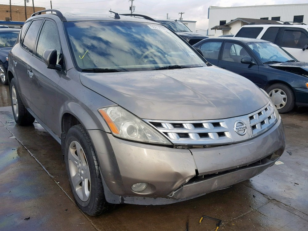 medium resolution of 2004 nissan murano sl 3 5l 6 for sale