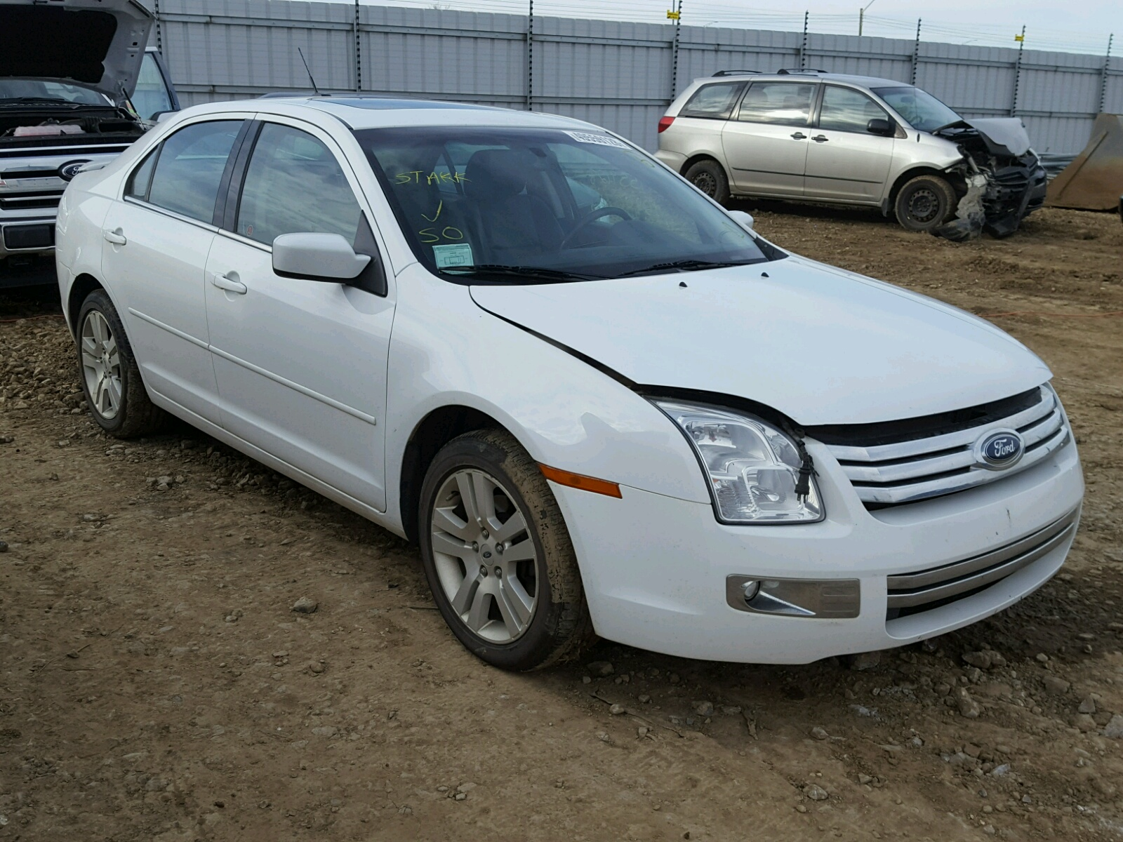 hight resolution of 2007 ford fusion sel 3 0l 6 for sale ab edmonton vin 3fahp02147r256386