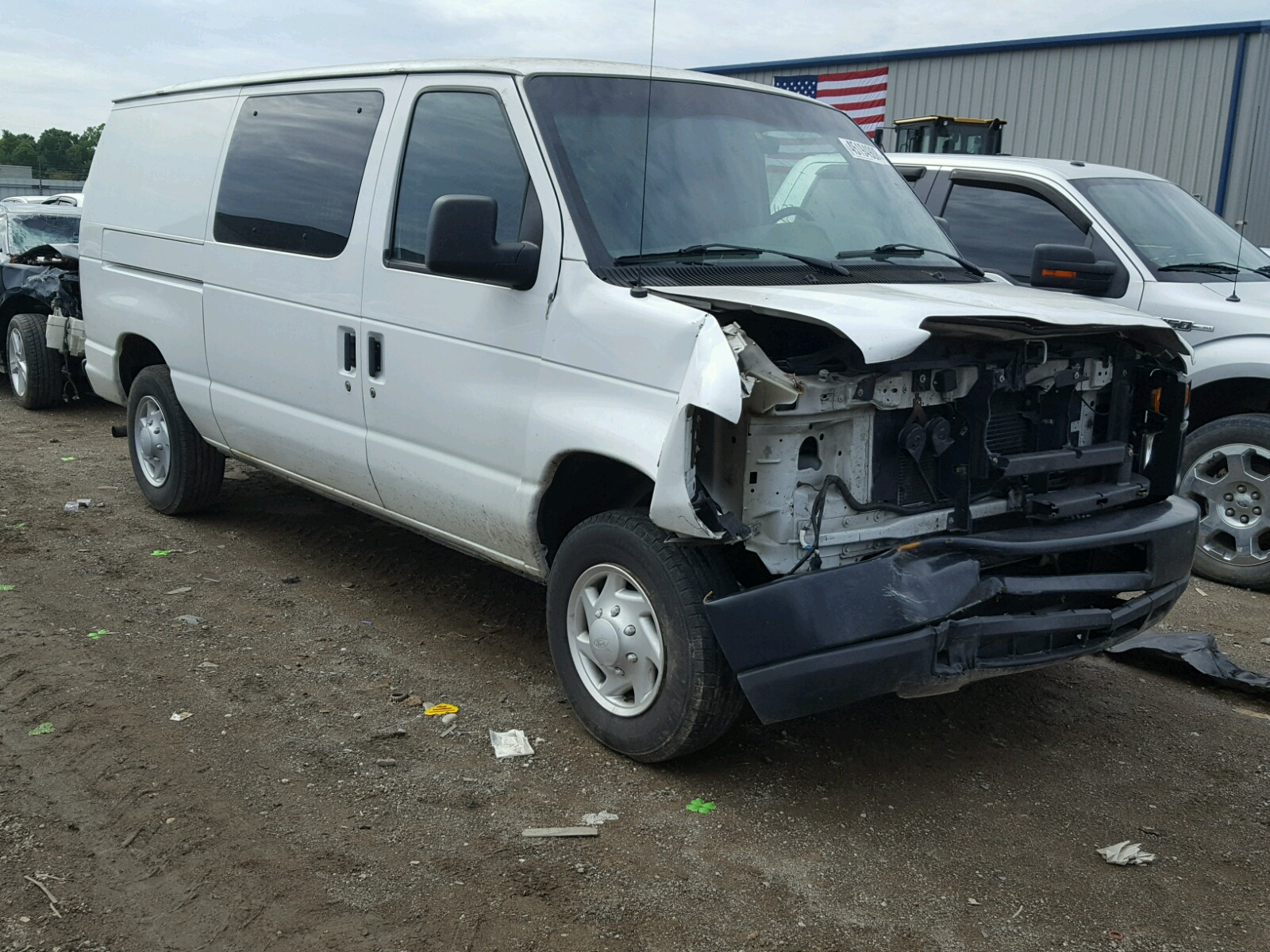 hight resolution of 1ftne14w18da67173 2008 ford econoline 4 6l left view 1ftne14w18da67173