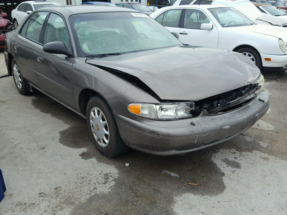 medium resolution of 2003 buick century cu 3 1l for sale at copart auto auction