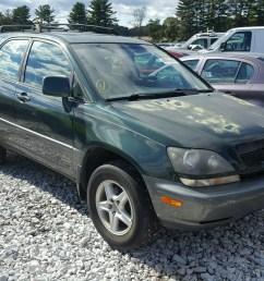 1999 lexus rx 300 3 0l for sale at copart auto auction [ 1600 x 1200 Pixel ]