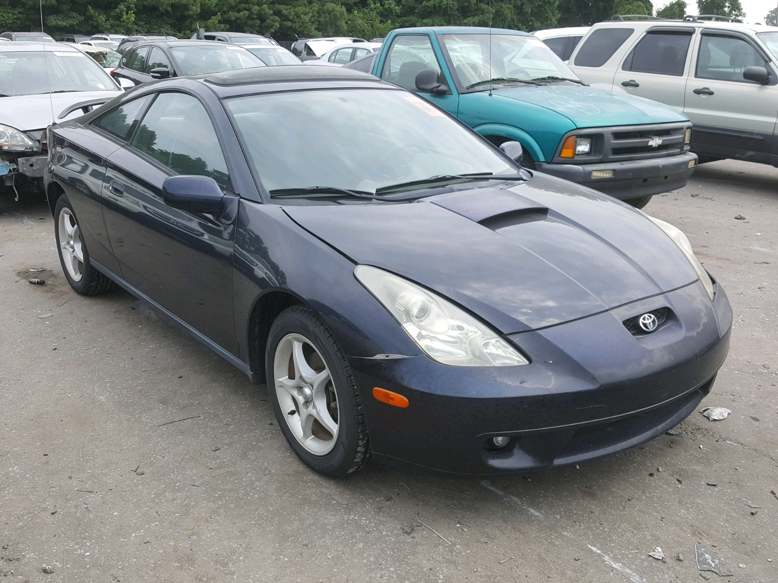 hight resolution of jtddy38t910042050 2001 toyota celica gt 1 8l left view jtddy38t910042050