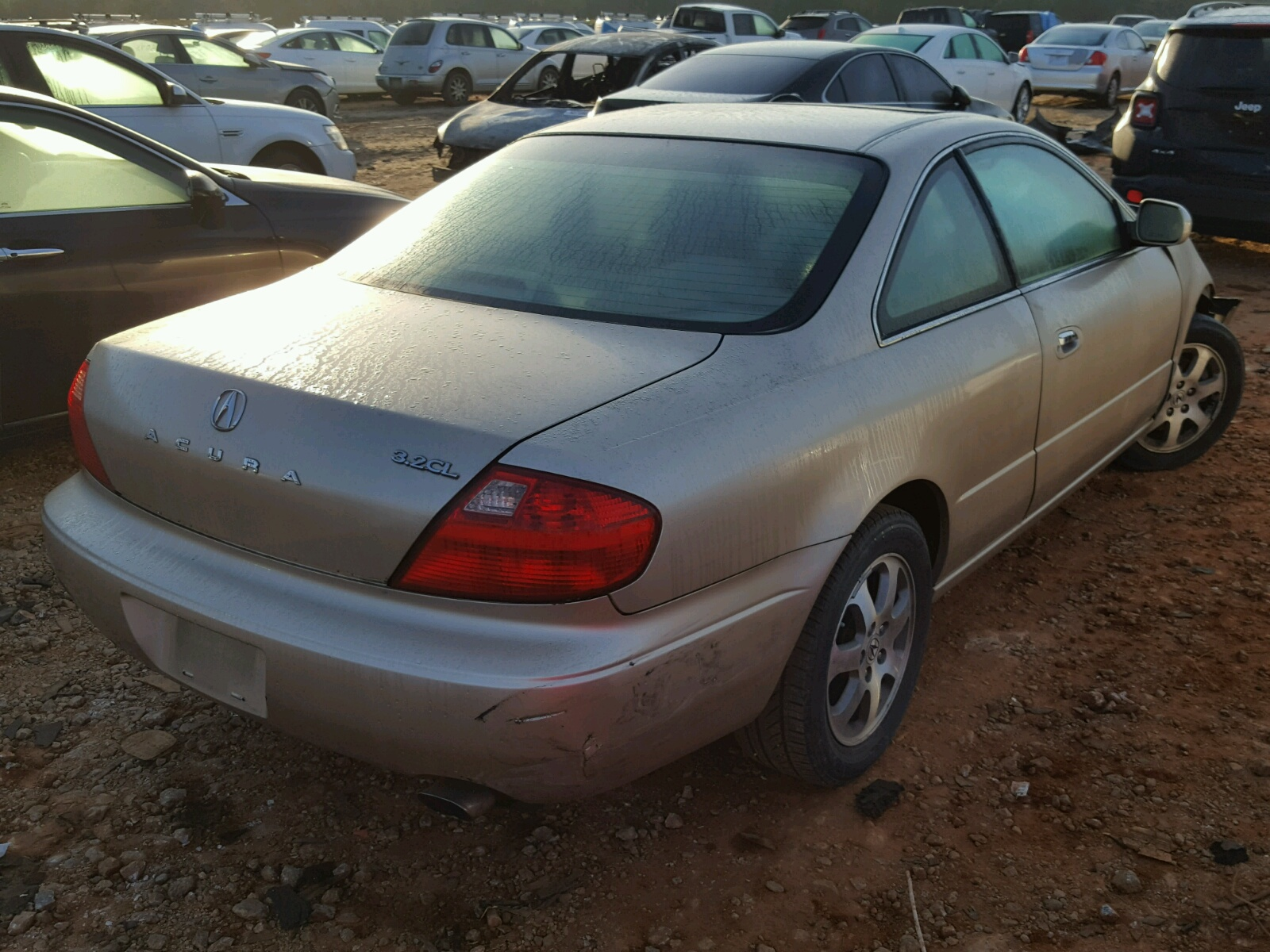 hight resolution of 2001 acura 3 2cl lot 50831308
