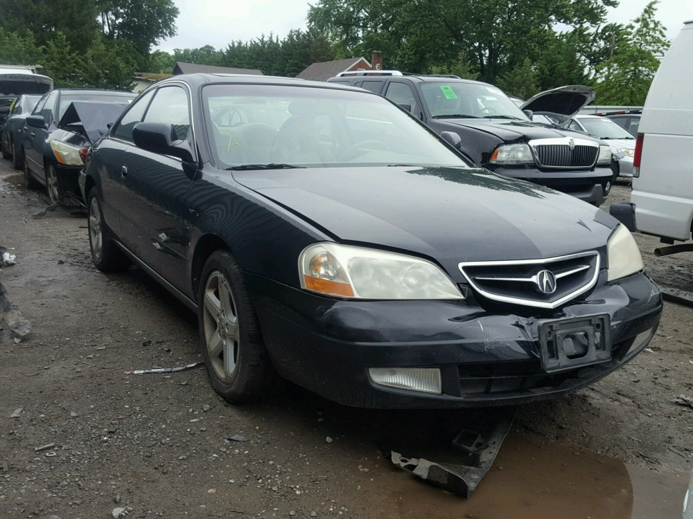 medium resolution of 19uya426x1a031066 2001 acura 3 2cl type 3 2l left view 19uya426x1a031066