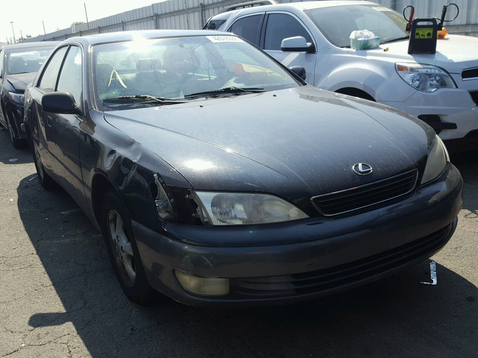 hight resolution of 1998 lexus es 300 3 0l for sale at copart auto auction