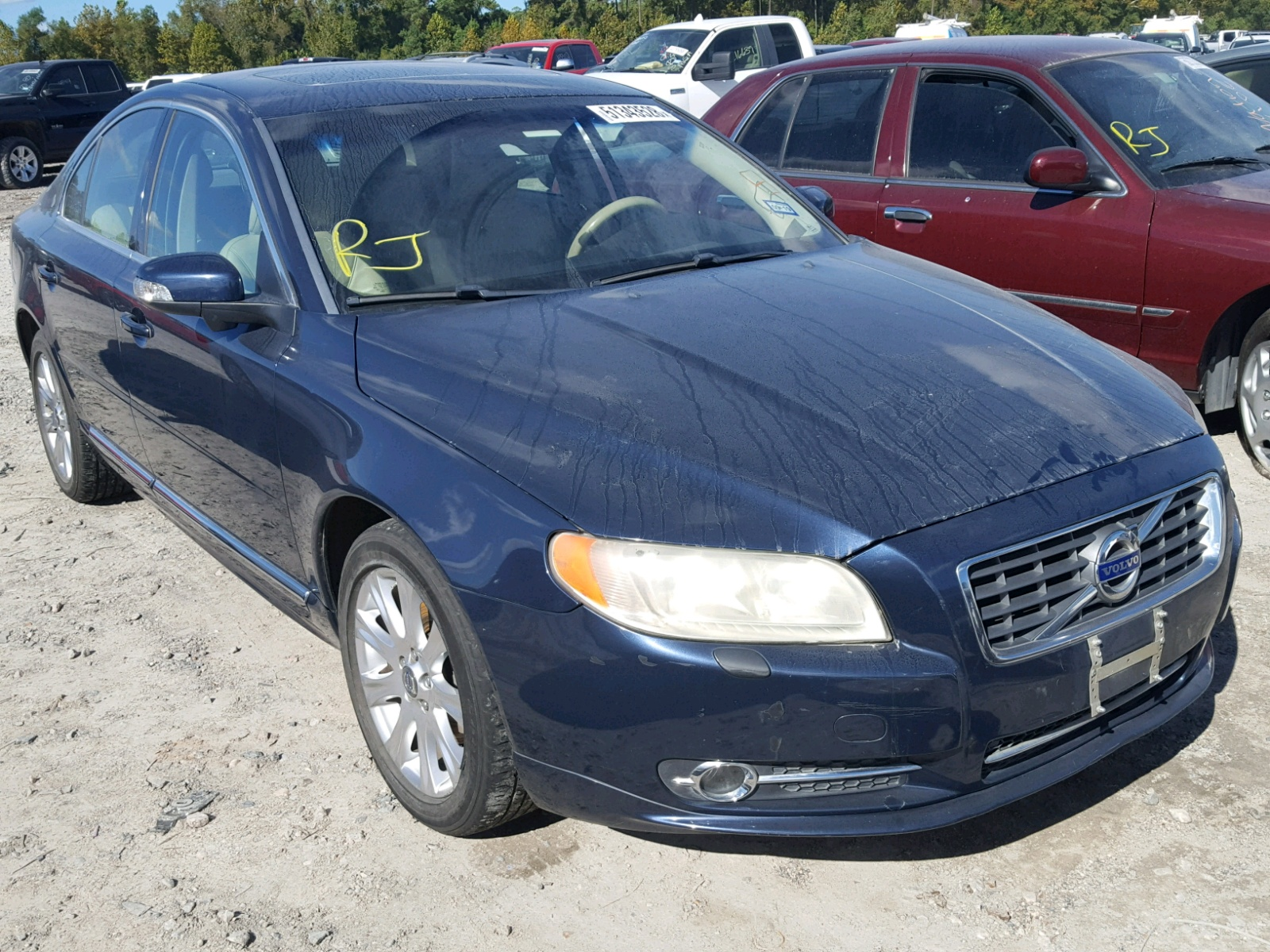 hight resolution of 2011 volvo s80 3 2 3 2l 6 in tx houston yv1952as0b1143588 for sale
