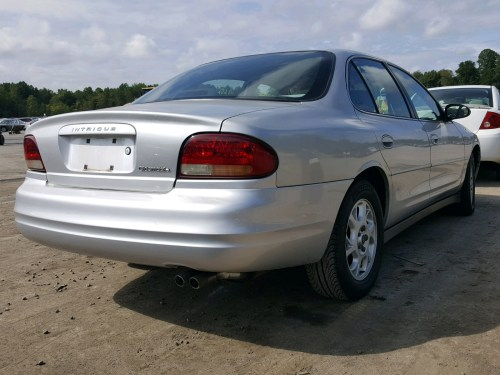 small resolution of  1g3wh52h31f191608 2001 oldsmobile intrigue g 3 5l rear view 1g3wh52h31f191608