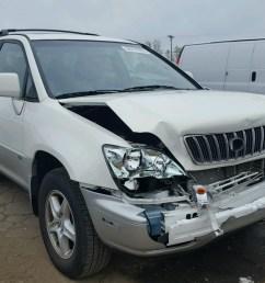 2002 lexus rx 300 3 0l for sale at copart auto auction [ 1600 x 1200 Pixel ]