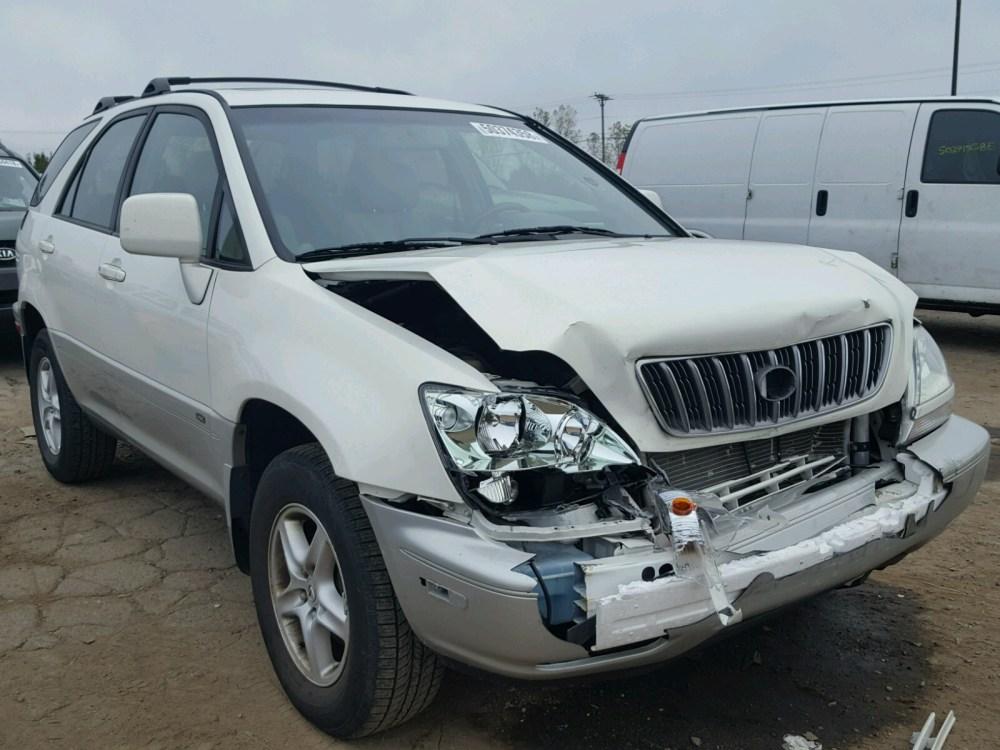 medium resolution of 2002 lexus rx 300 3 0l for sale at copart auto auction