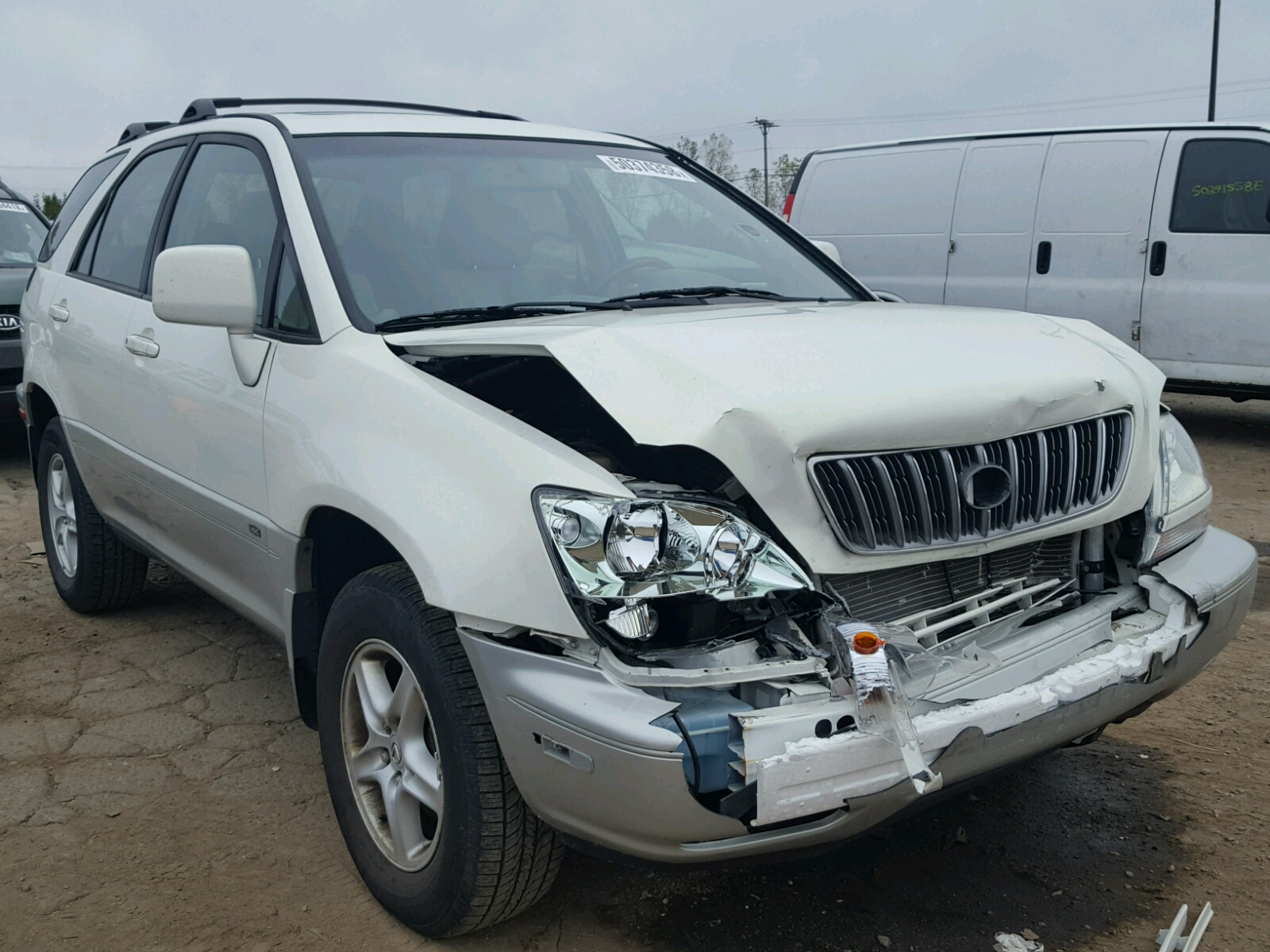 hight resolution of 2002 lexus rx 300 3 0l for sale at copart auto auction