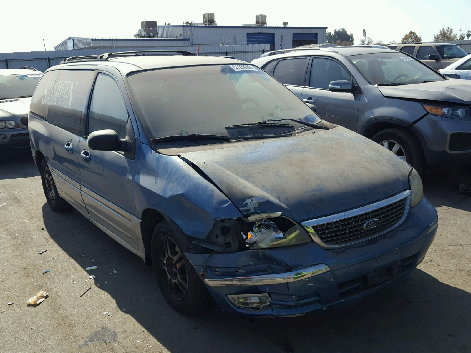 hight resolution of 2fmda53433bb56249 2003 ford windstar s 3 8l left view 2fmda53433bb56249