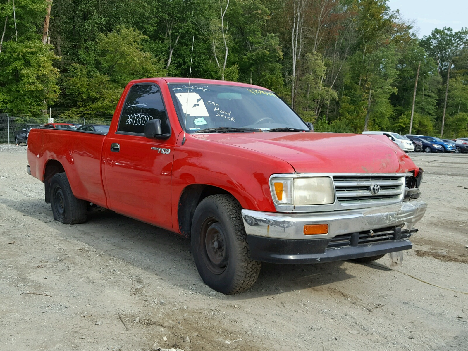 hight resolution of 1996 toyota t100 2 7l 4 for sale