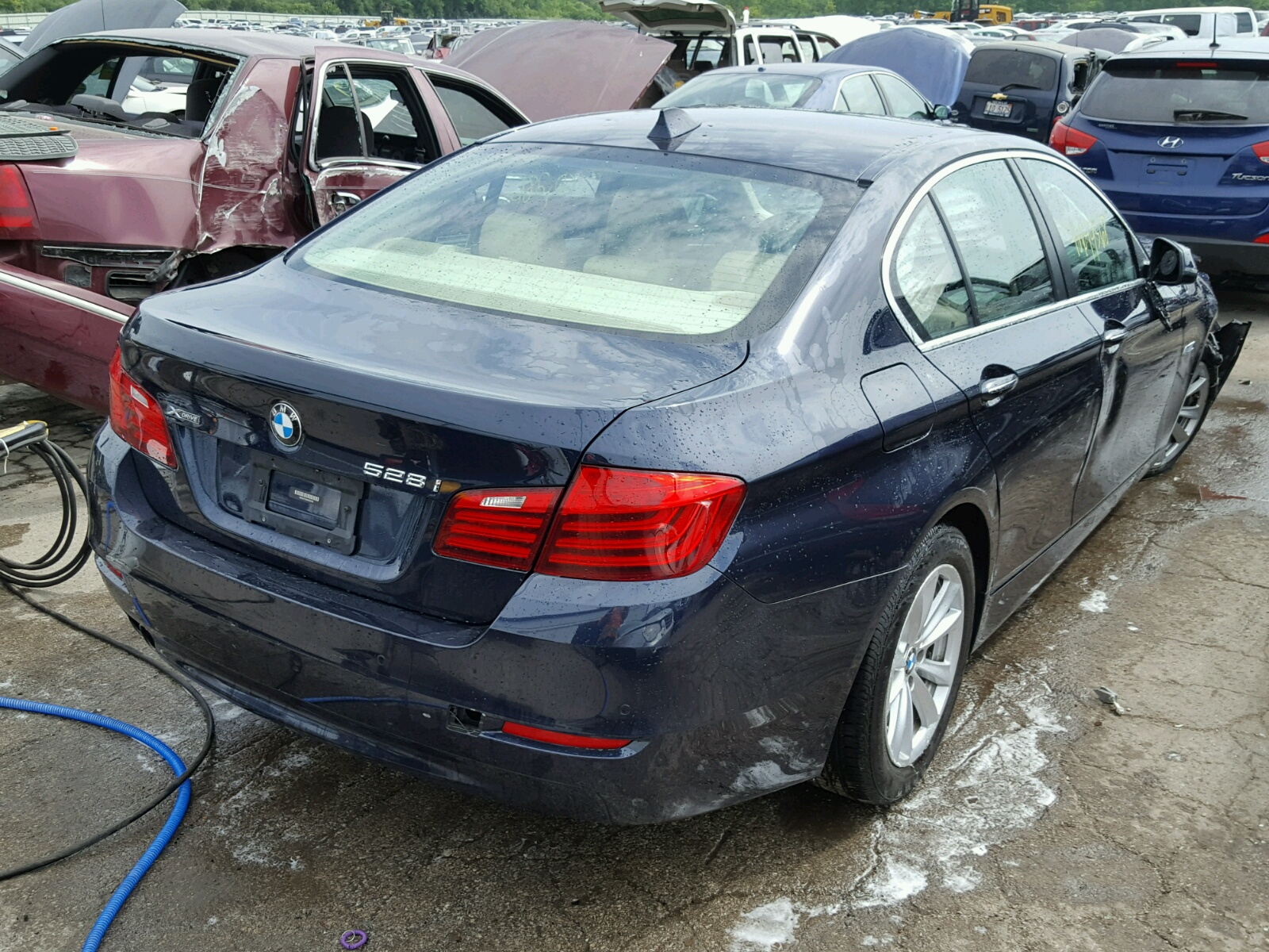 hight resolution of  wba5a7c58ed620109 2014 bmw 528 xi 2 0l rear view wba5a7c58ed620109