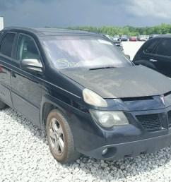 2004 pontiac aztek 3 4l for sale at copart auto auction [ 1600 x 1200 Pixel ]