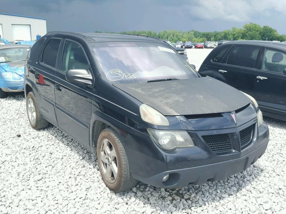 medium resolution of 2004 pontiac aztek 3 4l for sale at copart auto auction