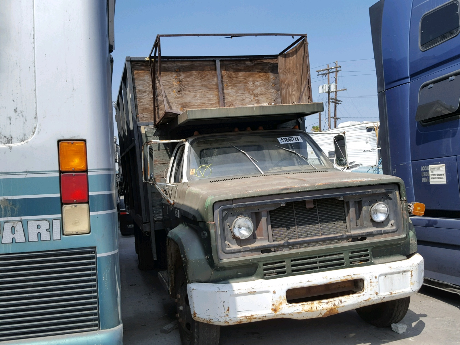 hight resolution of salvage 1973 gmc 5000 for sale
