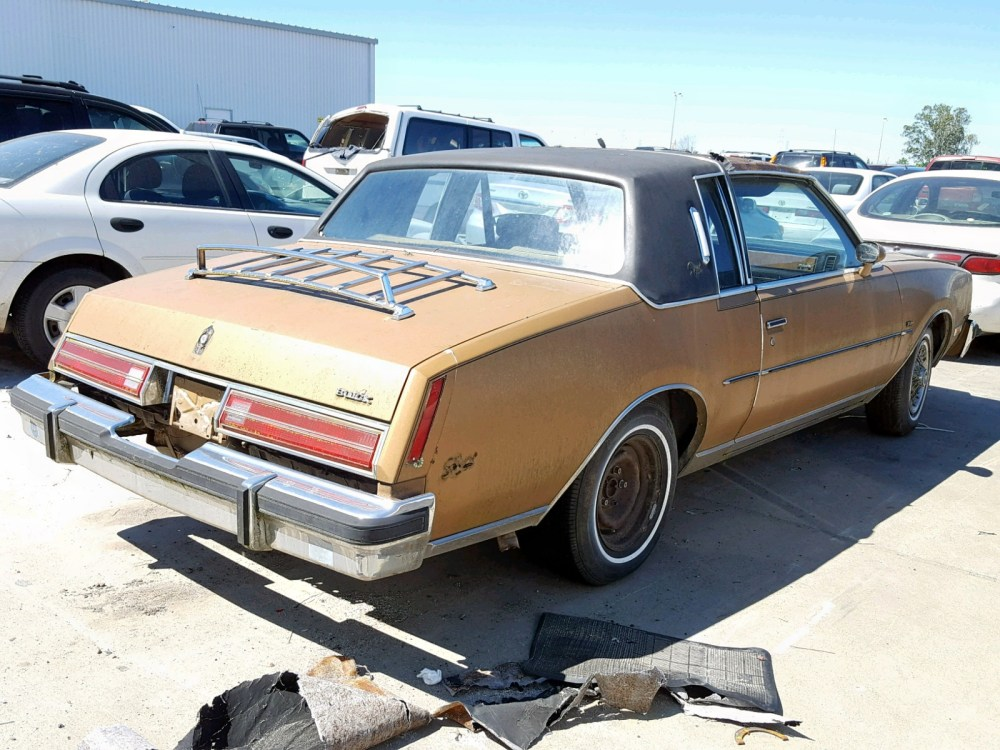 medium resolution of 1980 buick regal lot 29734879
