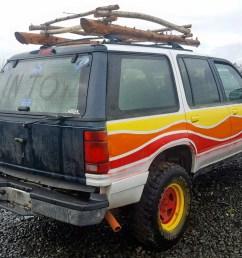 1fmdu34x2rub33486 1994 ford explorer 4 0l rear view 1fmdu34x2rub33486  [ 1600 x 1200 Pixel ]