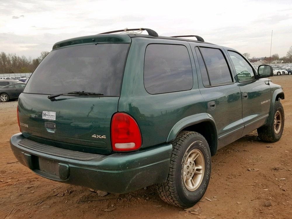 medium resolution of  1b4hs28y4xf705813 1999 dodge durango 5 2l rear view 1b4hs28y4xf705813