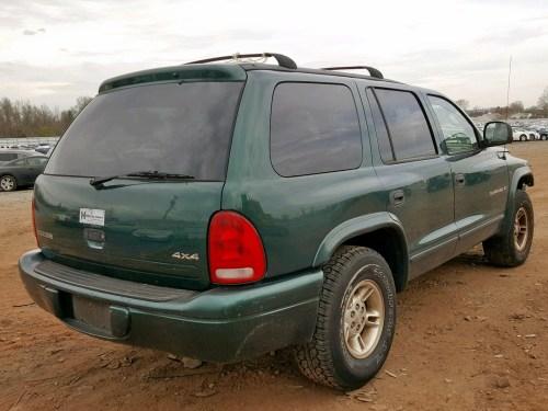 small resolution of  1b4hs28y4xf705813 1999 dodge durango 5 2l rear view 1b4hs28y4xf705813