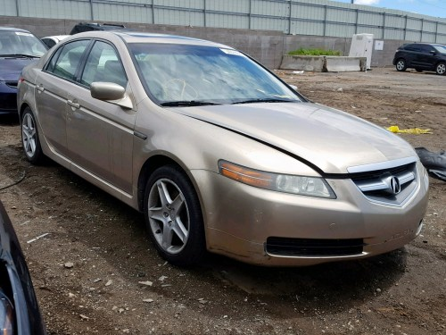 small resolution of 19uua66215a077893 2005 acura tl 3 2l left view 19uua66215a077893