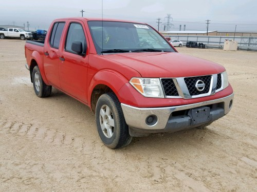 small resolution of 1n6ad07ux5c444555 2005 nissan frontier c 4 0l left view 1n6ad07ux5c444555