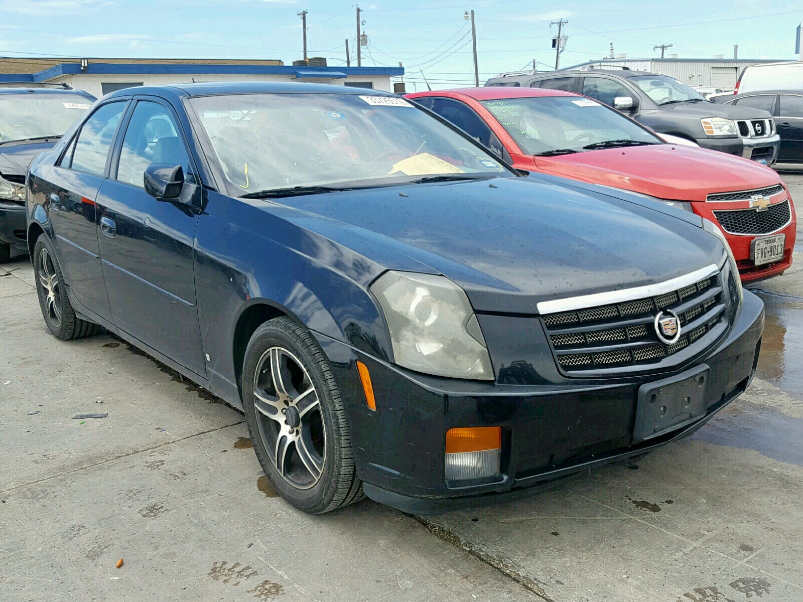 hight resolution of 1g6dm57t170153566 2007 cadillac cts 2 8l left view 1g6dm57t170153566